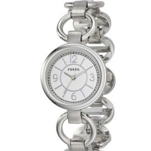 Fossil | stainless steel white dial watch